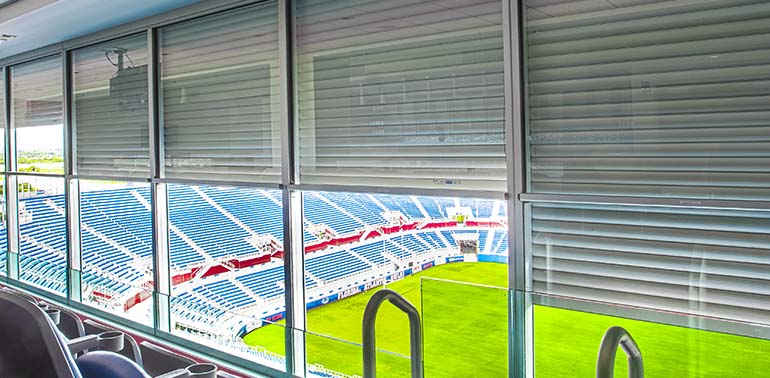 Automatic Door Applications for Stadium and Sports Centers